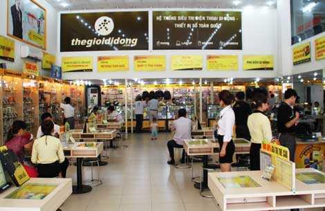 Thế giới di động là đại gia bán lẻ Việt đầu tiên công bố tham vọng tỷ USD