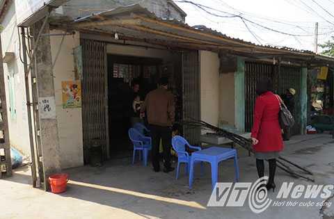 Nơi xảy ra vụ côn đồ truy sát anh Dương Hồng Quân - Ảnh MK