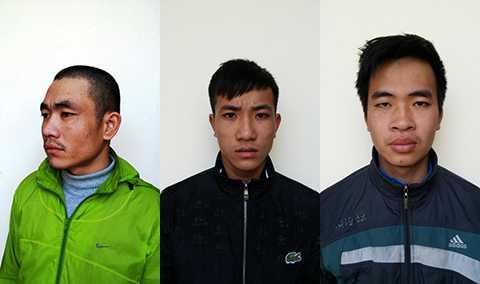 Chân dung 3/4 đối tượng côn đồ truy sát kinh hoàng khiến 2 người thương vong ở Bệnh viện Đa khoa Chí Linh, Hải Dương