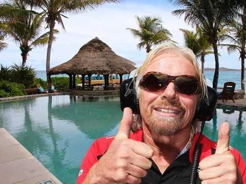 Tỷ phú sáng lập Virgin Group, Richard Branson