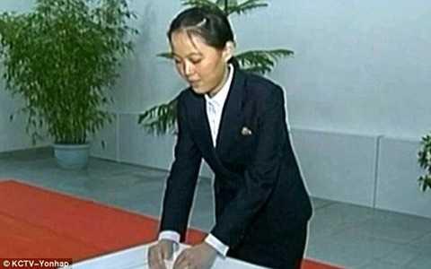 Em gái nhà lãnh đạo Kim Jong-un là Kim Yo-jong