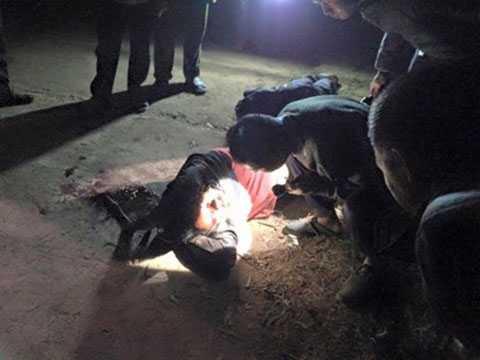 Đối tượng trộm chó bị đánh hội đồng