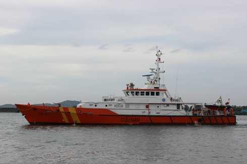 Tàu SAR 413 tham gia cứu hộ tàu Bulk Jupiter.