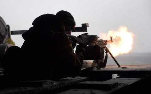 Thành viên lực lượng dân quân Ukraine