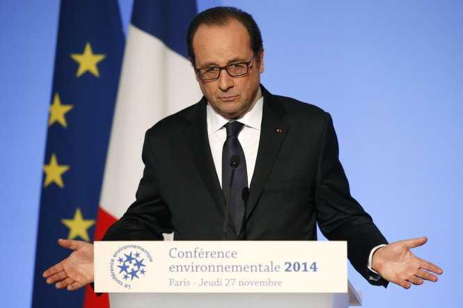 Tổng thống Pháp François Hollande