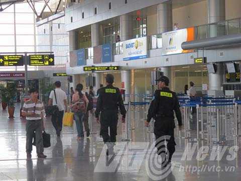 Sân bay Đà Nẵng được tăng cường công tác an ninh