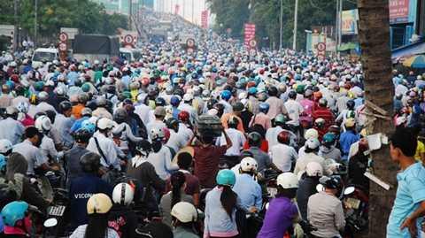 Nhu cầu xe máy tại Việt Nam cũng đã bão hòa