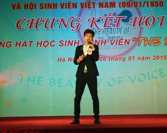 Bài hát Thơ tình của núi được thí sinh Trần Văn Nam thể hiện