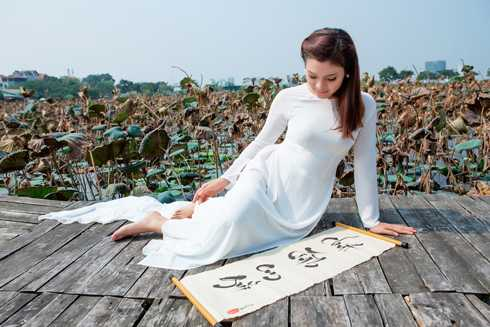 Một số hình ảnh của Phạm Phương Thảo trong album Chút tình em gửi