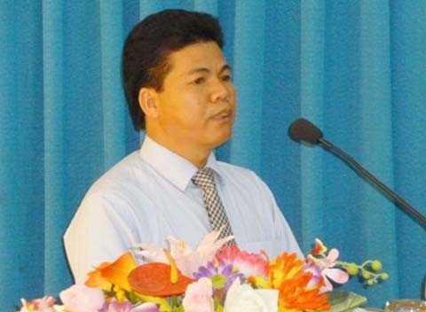Ông Võ Công Chánh, Chủ tịch UBND huyện Hoàng Sa
