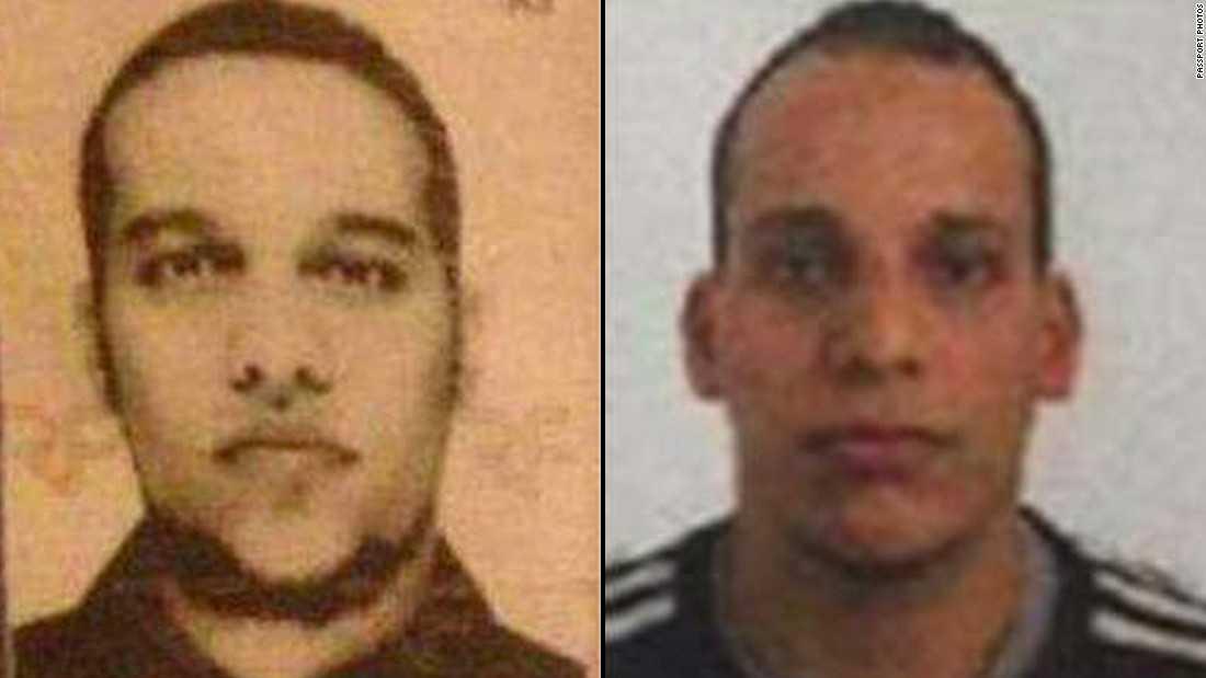 Chân dung 2 nghi phạm tham gia vụ xả súng, Cherif Kouachi bên trái và Said Kouachi bên phải