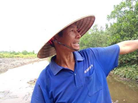 Ông Trần Thanh (60 tuổi) nghe thấy tiếng nổ trong vụ máy bay rơi.