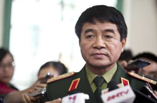 Trung tướng Võ Văn Tuấn, phó tổng tham mưu trưởng Quân đội nhân dân Việt Nam. Ảnh: Nguyên Anh.