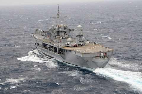 Kỳ hạm USS Blue Ridge LCC19 ở Biển Đông