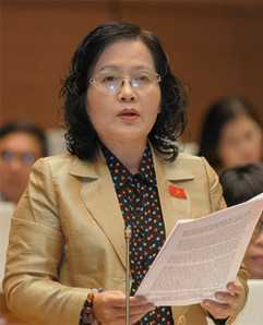 Đại biểu Quốc hội Trần Thị Quốc Khánh.