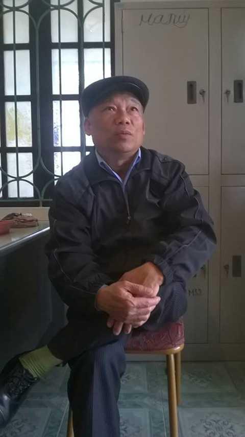 Ông Vũ Trọng Nghĩa, Phó Trưởng công an xã