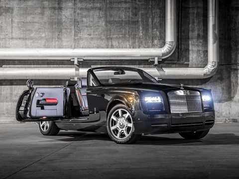 Thiết kế bóng bẩy mang đúng thương hiệu của Roll-Royce