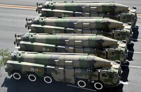 Tên lửa đạn đạo chống hạm Đông Phong-21 (DF-21) của Trung Quốc