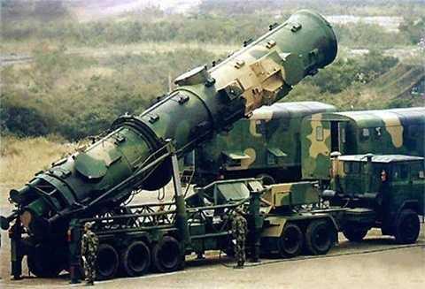 Tên lửa đạn đạo xuyên lục địa Đông Phong-41 của Trung Quốc