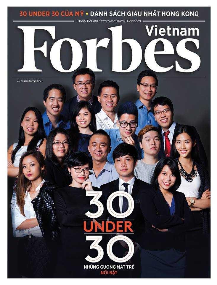 Một số gương mặt nổi bật (Ảnh: Forbes Việt Nam)
