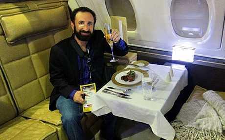 Trải nghiệm hệ thống khách sạn trên cao của Etihad Airways