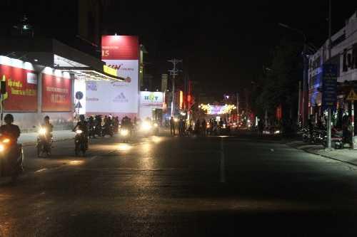 Tuyến đường Võ Văn Ngân bị phong tỏa để phục vụ công tác khắc phục sự cố