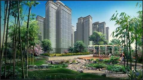 Sở hữu căn hộ trong không gian sống với nhiều cây xanh là mơ ước củ bất kì người mua nhà nào. Ảnh dự án Goldmark City