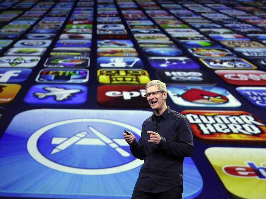 iPhone luôn được cập nhật những ứng dụng mới đầu tiên