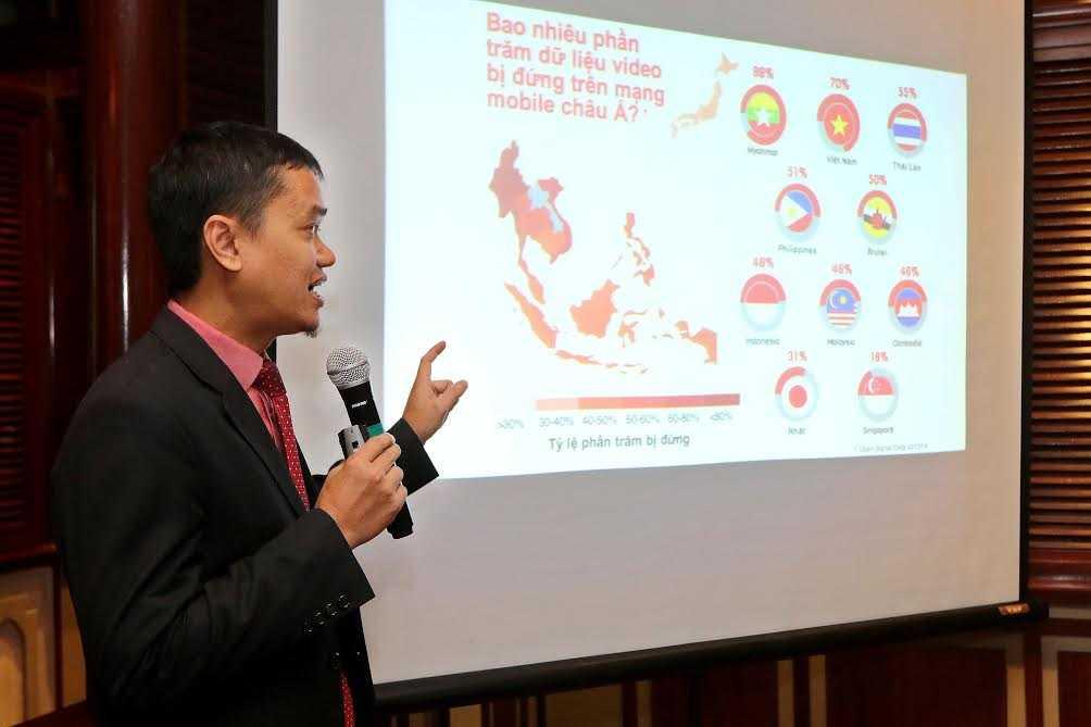 Tốc độ đứng hình khi truy cập video trên mạng mobile tại Việt Nam cao thứ 2 tại châu Á