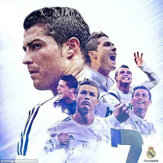 Cristiano Ronaldo - một trong những siêu sao bóng đá đắt giá nhất hiện tại