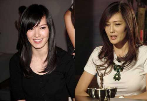 Năm 2004, Lâm Hy Lôi (phải) và Mạnh Quảng Mỹ (trái) được mời đóng vai tình địch trong bộ phim truyền hình Hồng phấn nữ lang 2. Đây là cơ hội để 2 mỹ nhân tái hiện cuộc chiến tình năm xưa khi từng xôn xao dư luận báo chí với mối tình tay ba cùng nam diễn viên Ngô Đại Duy.