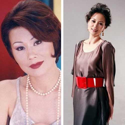 Trong bộ phim Gia đình kim cương (2009), Lưu Tuyết Hoa (phải) và Từ Quý Anh (trái) đóng vai 2 người phụ nữ cùng tranh nhau một người đàn ông. Ngoài đời, nhiều năm trước đó, họ từng là người yêu của tài tử Lưu Đức Khải.