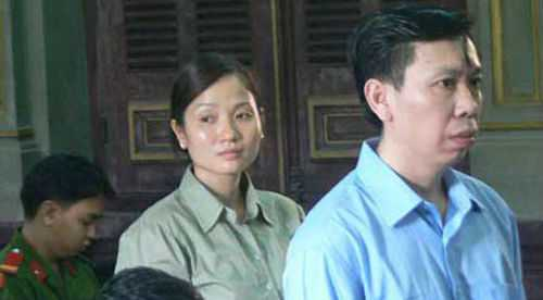 Chân dungPhan Thị Yến và ôngtrùm massage kích dục Phan Cao Trí