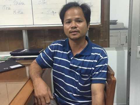 Anh Võ Văn Minh, người phát hiện có con ruồi trong chai nước ngọt Number One của Công ty Tân Hiệp Phát.