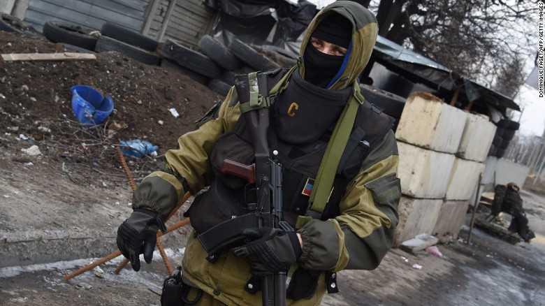 Binh sĩ ở Ukraine