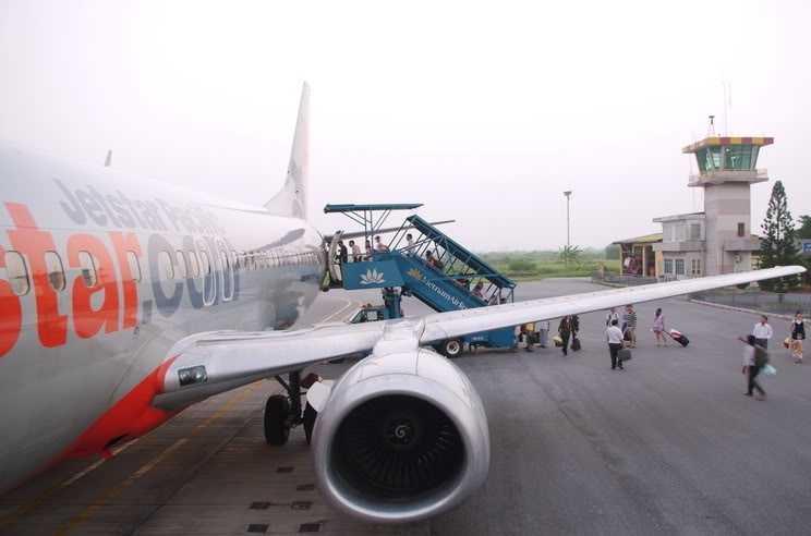 Thời tiết xấu khiến một số chuyến bay trong ngày 27/2 phải hạ cánh xuống sân bay Nội Bài (Hà Nội) thay vì đúng lịch trình phải đáp xuống sân bay Cát Bi (Hải Phòng)