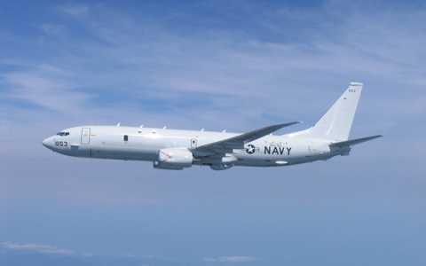 Máy bay P-8A Poseidon của Mỹ (Ảnh AP)
