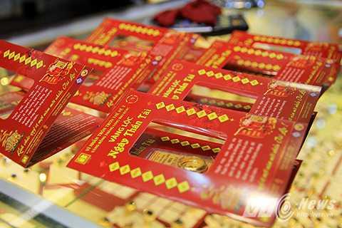 Mặt hàng bán chạy nhất trong ngày Vía Thần Tài thường là nhẫn tròn trơn