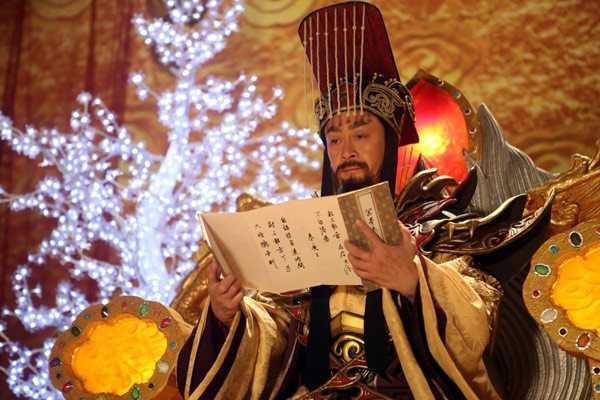 Lục Tiểu Linh Đồng vai Ngọc hoàng.