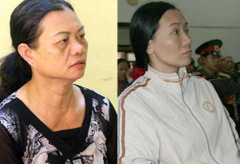 Lê Thị Hiển và Nguyễn Thị Thuận.