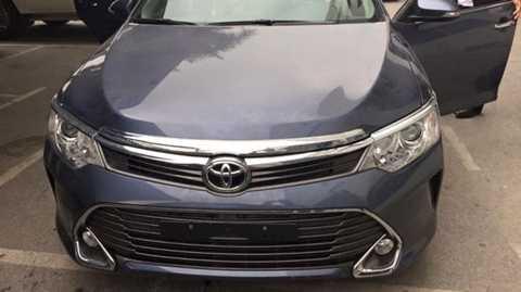 Rò rỉ hình ảnh xe Toyota Camry 2015 lắp ráp tại Việt Nam