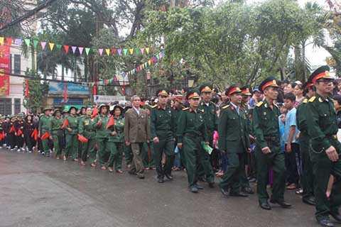 Hội cựu chiến binh, thanh niên xung phong, dân quân tự vệ.