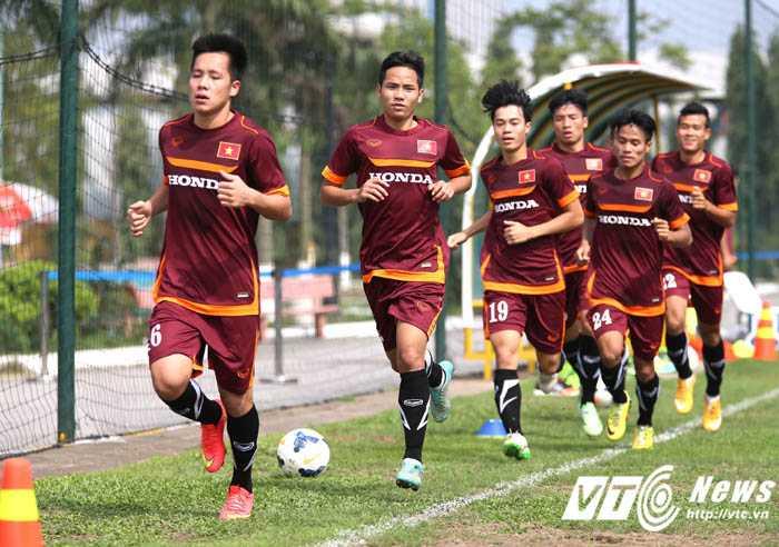 Cuộc chiến ở đội U23 rất khốc liệt (Ảnh: Quang Minh)