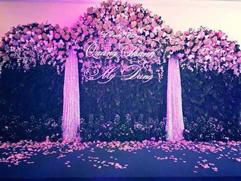 Hình ảnh về lễ đính hôn của Midu