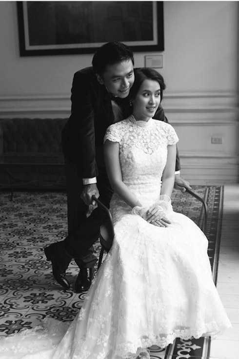 Ảnh cưới lãng mạn của Văn Anh và Tú Vi.
