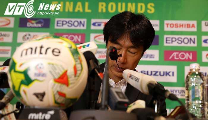 Ông Miura nhận thật bại cay đắng trước U23 Malaysia