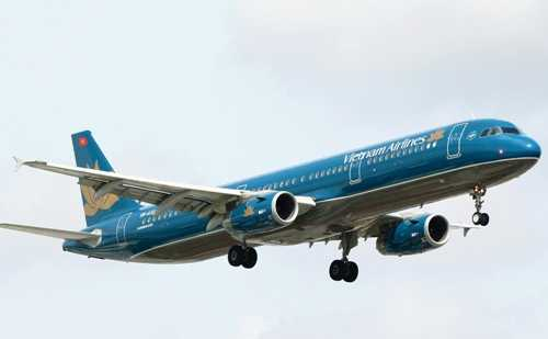 Máy bay của hãng Vietnam Airlines