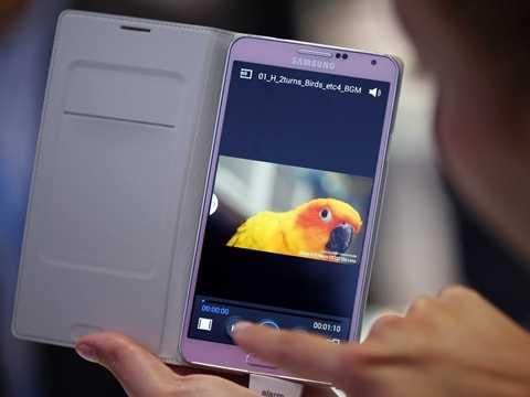 Samsung Galaxy Note mở ra tương lai mới cho thị trường phablet
