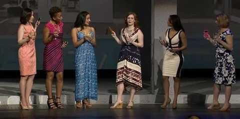 Buổi ra mắt Galaxy S4 bị chỉ trích là xúc phạm nữ giới.