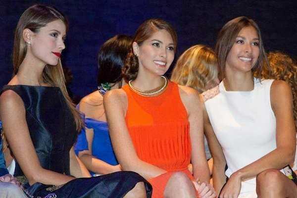 Trong vòng 6 năm, Venezuela đoạt 3 vương miện Hoa hậu Hoàn vũ (2008, 2009, 2013). Từ trái qua: Stefania Fernandez (2009), Gabriela Isler (2013) và Dayana Mendoza (2008).